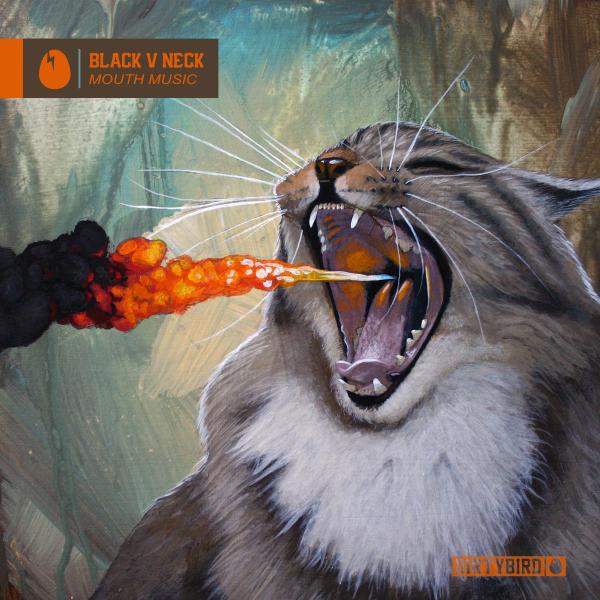 Black V Neck - Mouth Music