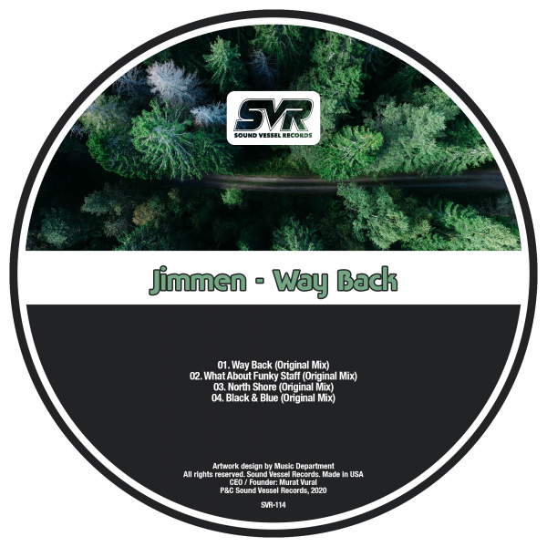 SVR114Jimmen - North Shore (Original Mix) [Sound Vessel Records]