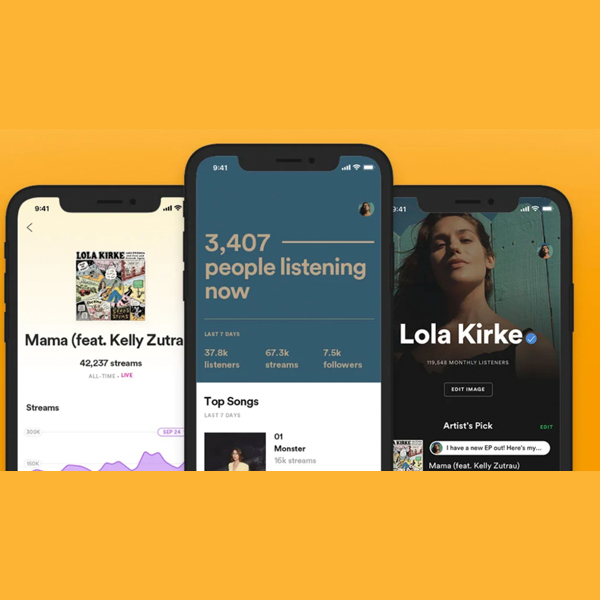 Spotify For Artists App Redesigned For IOS And Android