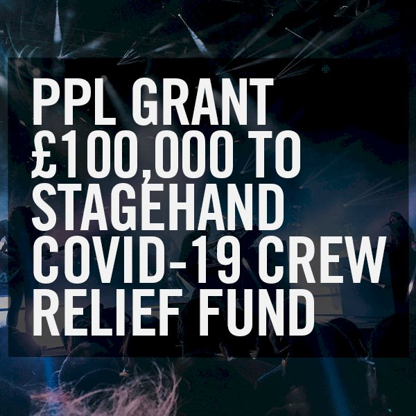 Stagehand Covid-19 Crew Relief Fund Receives PPL Grant