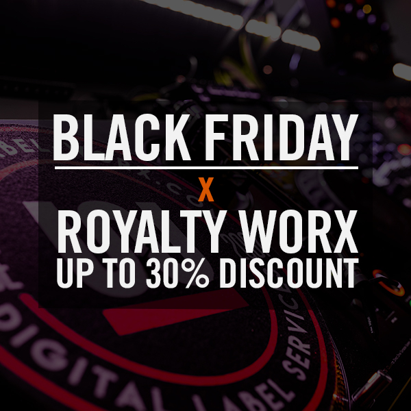 Black Friday - Royalty Worx Sale - Up To 30% Off Selected Packages