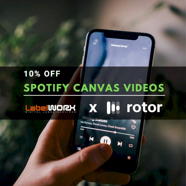 10% Off Custom Spotify Canvas Videos