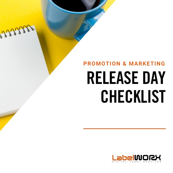 Promotion & Marketing: Release Day Checklist