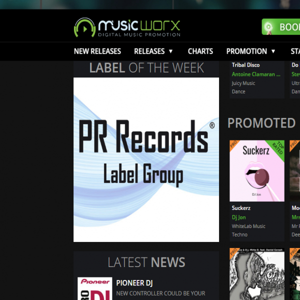 'Label of the Week' at Music-worx