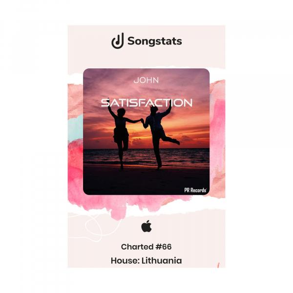 John - Satisfaction Charted # 66 Lithuania