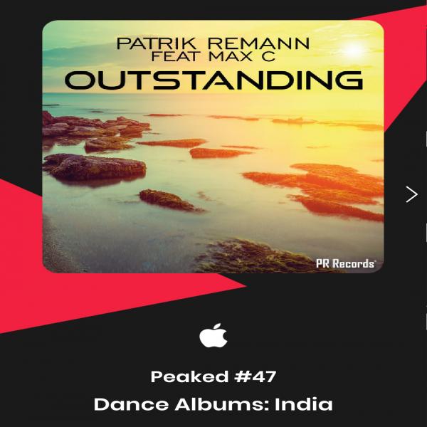 Patrik Remann & Max'C - Outstanding #47 Dance albums India